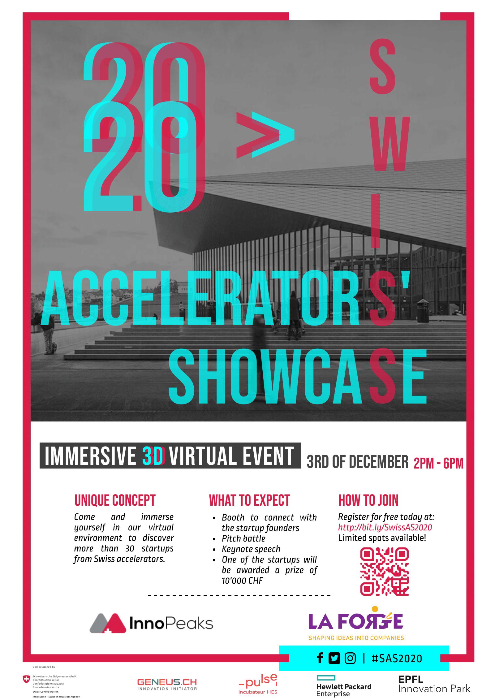 Swiss Accelerator Showcase